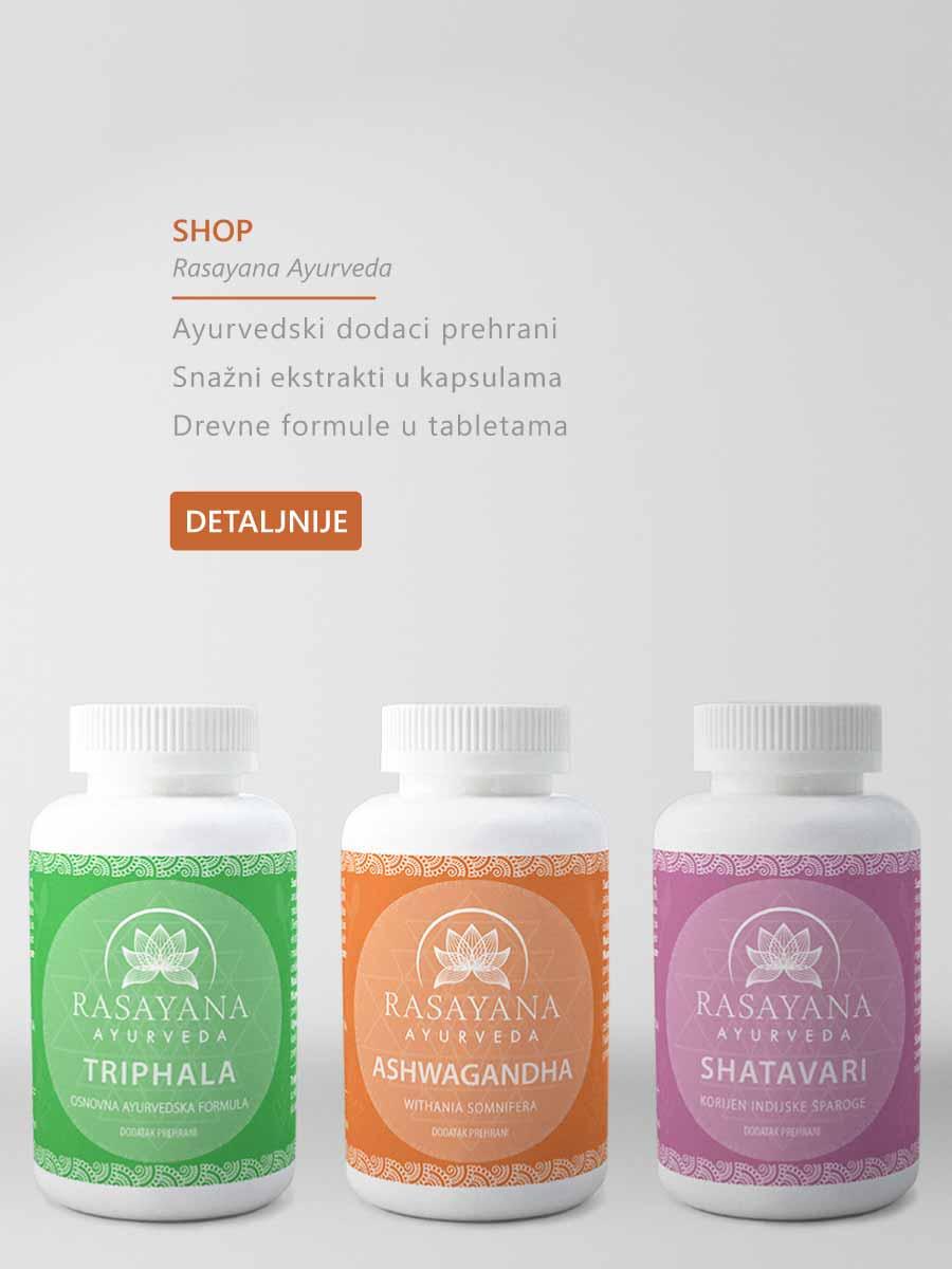 Shop Rasayana Ayurveda webshop webtrgovina trgovina kupi online
