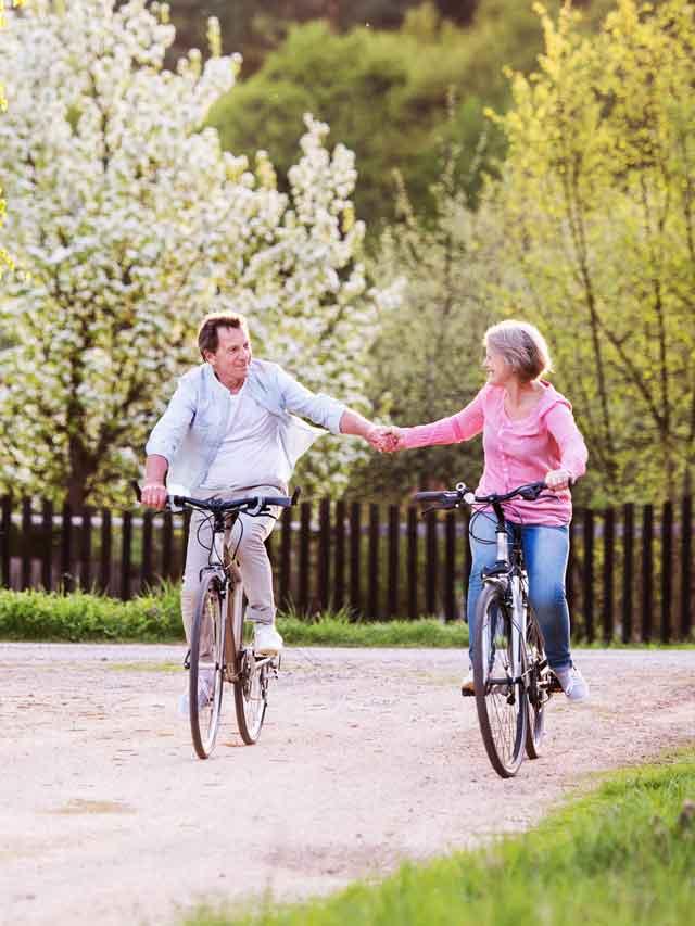 Preporuka Ayurveda Vježbe proljeće biciklizam